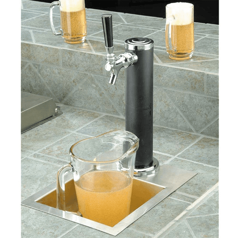 Cal Flame 20-Inch Beer Tap Stainless Steel Kegerator (Model: BBQ09843B)