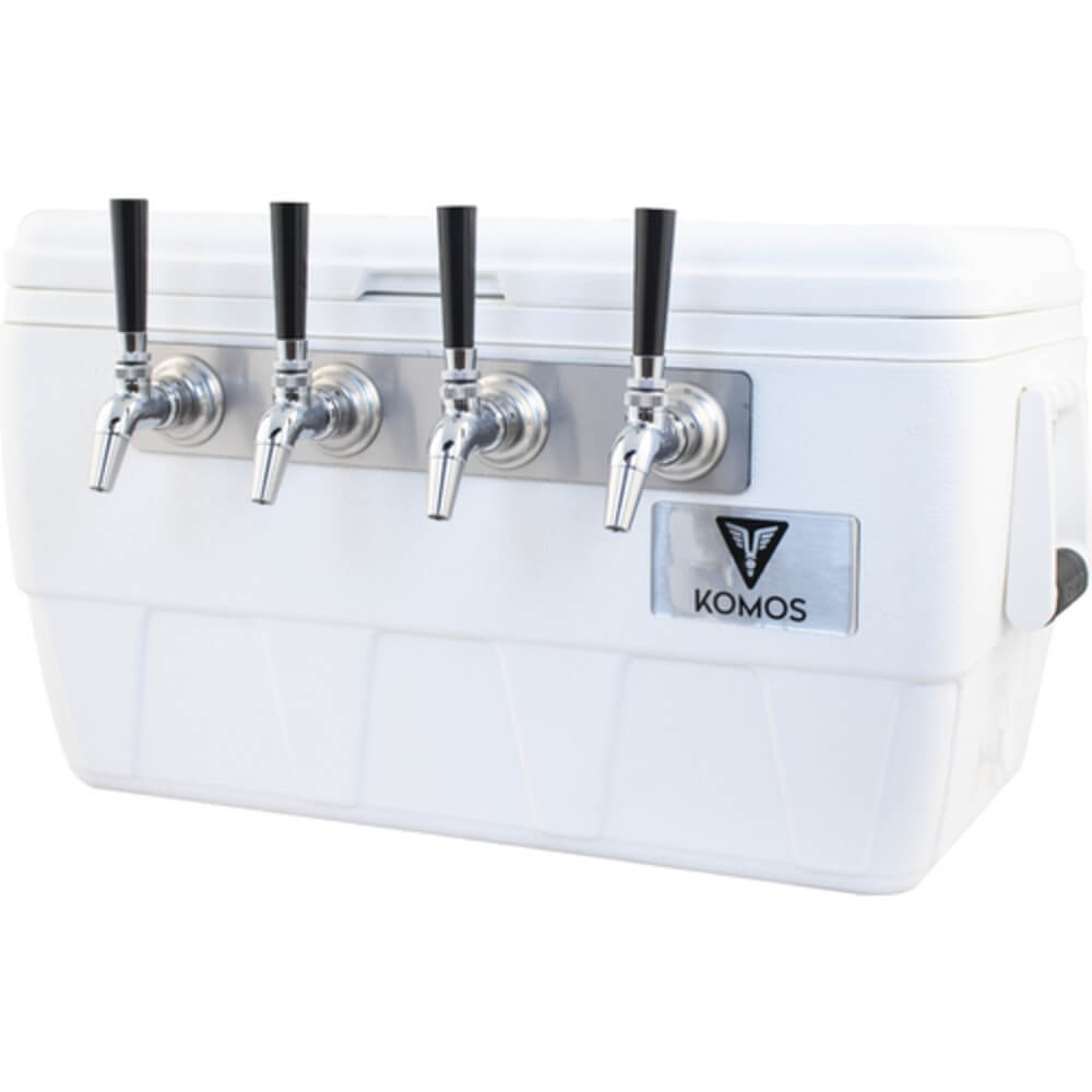 KOMOS Marine Ultra Cooler Four Taps Draft Jockey Box (Model: D1912)