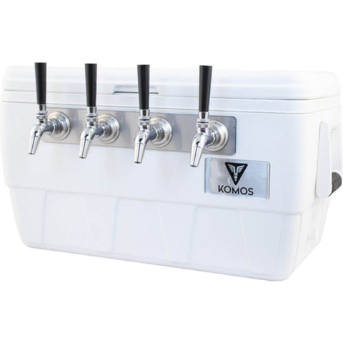 Image of KOMOS Marine Ultra Cooler Four Taps Draft Jockey Box (Model: D1912)