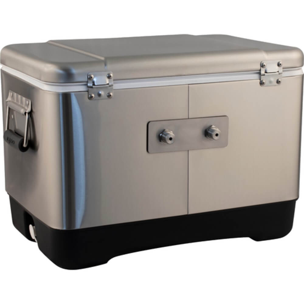 KOMOS Stainless Steel Double Tap Draft Jockey Box (Model: D1913)