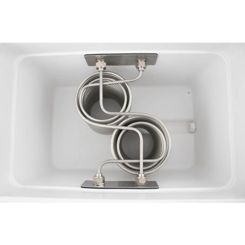 Image of KOMOS Stainless Steel Double Tap Draft Jockey Box (Model: D1913)