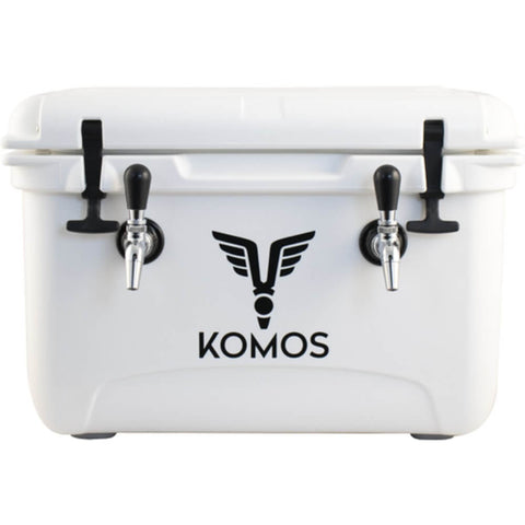 KOMOS Rubicon Slimline Cold Plate Double Tap Draft Jockey Box (Model: D1915)