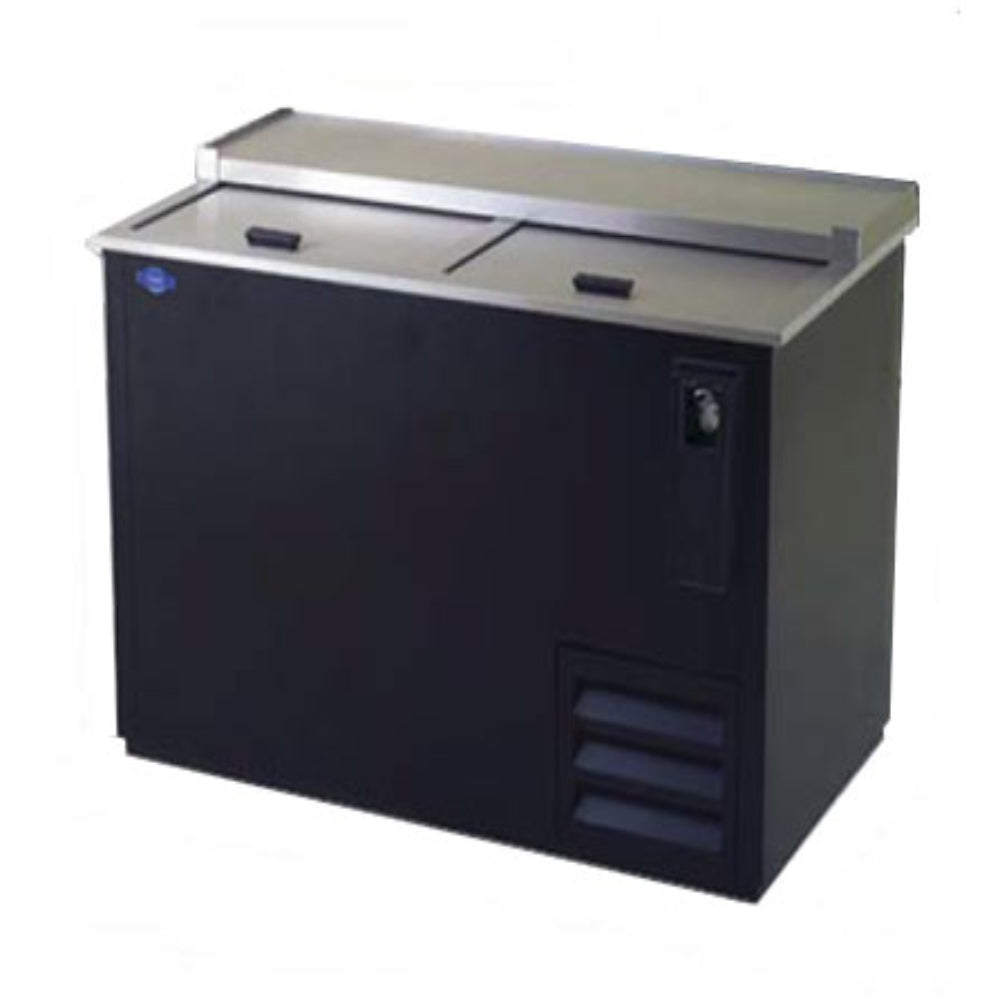 Fogel Bottle Cooler Black Steel Exterior