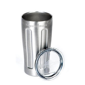 GrowlerWerks uPint 16 oz Stainless Steel Vacuum Insulation Pint (Model: GWA1031-ST-NB-00)
