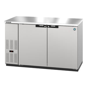 Hoshizaki BB59-S Two Section Solid Doors  Stainless Steel Back Bar (Model: BB59-S)