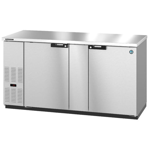 Hoshizaki BB69-S Two Section Solid Doors Stainless Steel Back Bar (Model: BB69-S)