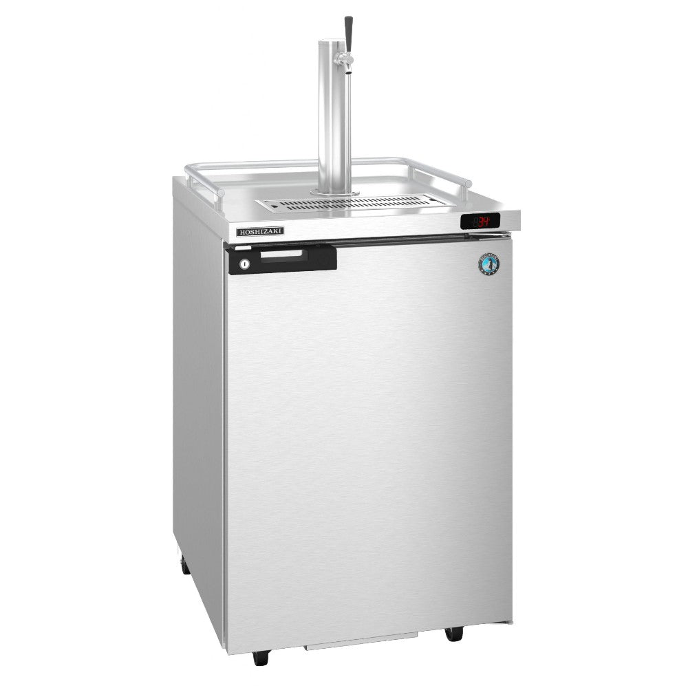 Hoshizaki DD24-S Single Tap Stainless Steel Back Bar Direct Draw Kegerator (Model: DD24-S)