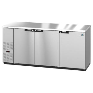 Hoshizaki BB80-S Three Section Solid Doors Stainless Steel Back Bar (Model: BB80-S)
