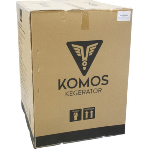 Image of KOMOS V2 Kegerator Stainless Steel Intertap Faucets (Model: KG440)