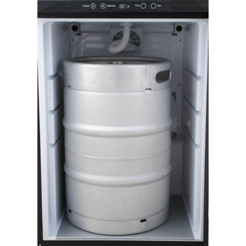 Image of KOMOS V2 Stainless Steel Kegerator with Digital Thermostat (Model: KG401)