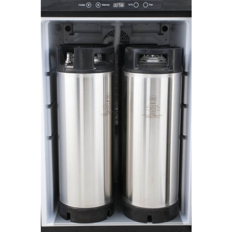 Image of KOMOS V2 Stainless Steel No Tap Kegerator with Digital Thermostat (Model: KG401)