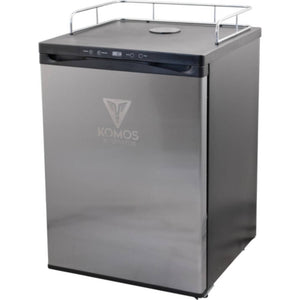 KOMOS V2 Stainless Steel No Tap Kegerator with Digital Thermostat (Model: KG401)