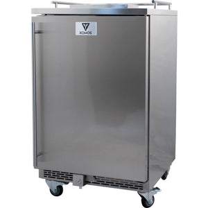KOMOS Stainless Steel Commercial Kegerator with Digital Thermostat (Model: KG901)
