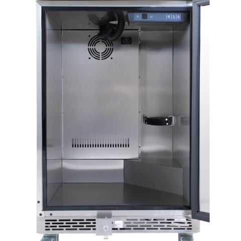 Image of KOMOS Stainless Steel Commercial Kegerator with Digital Thermostat (Model: KG901)