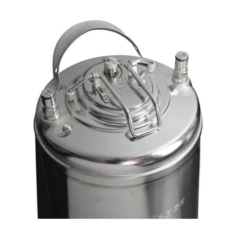 Image of Kegco 5 Gallon Set of Two Stainless Steel Ball Lock Keg (2X-KM5G-STH)