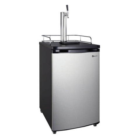 Image of Kegco HBK199S-1NK Built - In Stainless Steel Single Tap Home Kegerator
