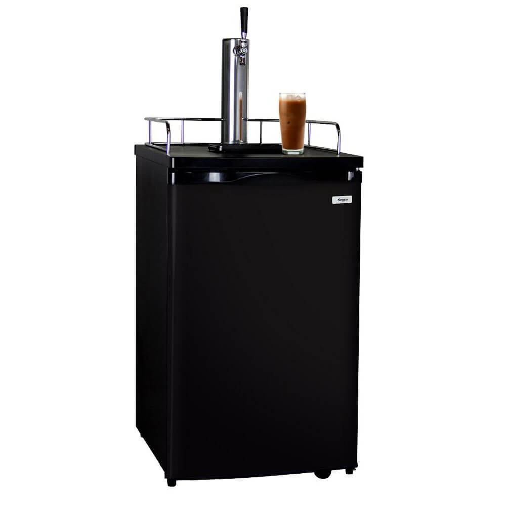 Kegco  ICK19B-1NK Freestanding Black Single Tap Cold Brew Coffee Kegerator