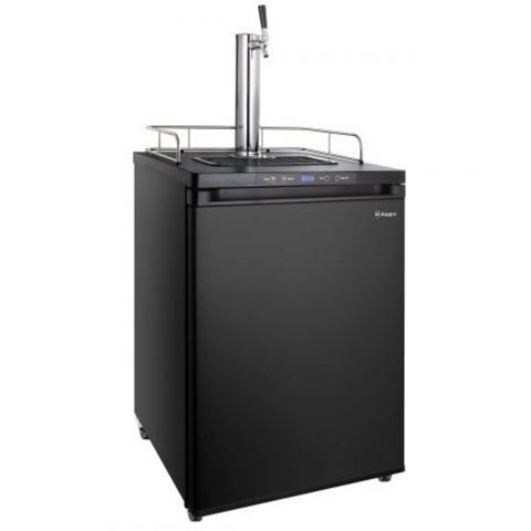 Kegco K309B-1NK Freestanding Black Single Tap Indoor Home Kegerator