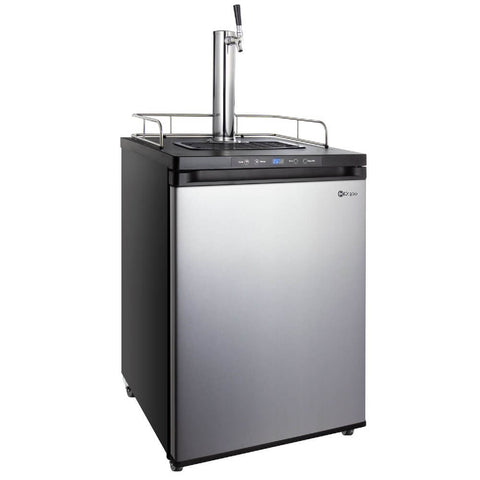 Kegco KOM30S-1NK Built-in Outdoor Stainless Steel Single Tap Kombucha Kegerator