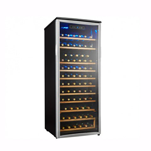 Danby Designer Freestanding Single Zone Platinum/Black Wine Cooler