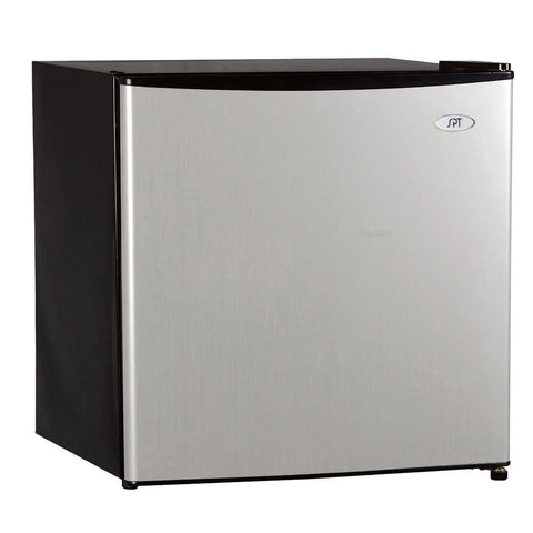 Sunpentown 1.6 cu. ft. Stainless Steel Refrigerator with Energy Star (Model:RF-164SS)