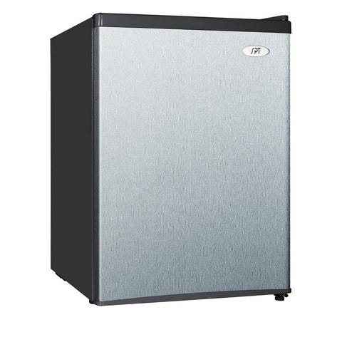 Image of Sunpentown 2.4 cu. ft. Stainless Steel Compact Refrigerator  (Model: RF-244SS)