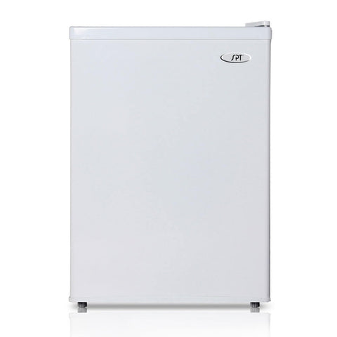 Image of Sunpentown 2.4 cu. ft. White Compact Refrigerator with Energy Star  (Model: RF-244W)