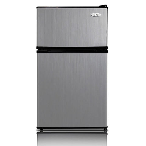 Sunpentown 3.1 cu. ft Double Door  Stainless steel Refrigerator with Energy Star  (Model: RF-314SS)