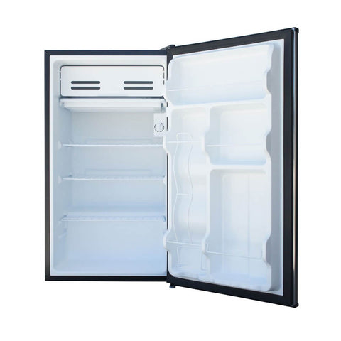 Sunpentown 3.3 cu. ft Compact Refrigerator in Stainless Steel with Energy Star (Model: RF-334SS)