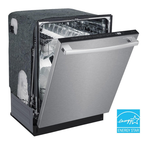 "Sunpentown 24"" Built-In Stainless Tall Tub Dishwasher w/ Smart Wash System & Heated Drying (SD-6502SS)"