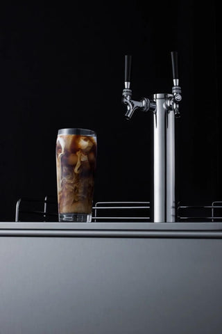 Summit 24 Inch Built-In Draft Cold Brew Coffee, Dual Tap Dispenser (Model: SBC58BBICFTWINADA)