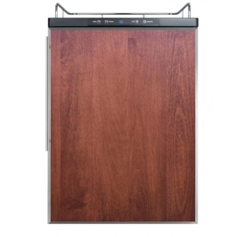 Image of Summit 24 - Inch 5.6 Cu. Ft. Built - in Panel-Ready Door Beer Dispenser - No Tap Kit (Model: SBC635MBINKFR)