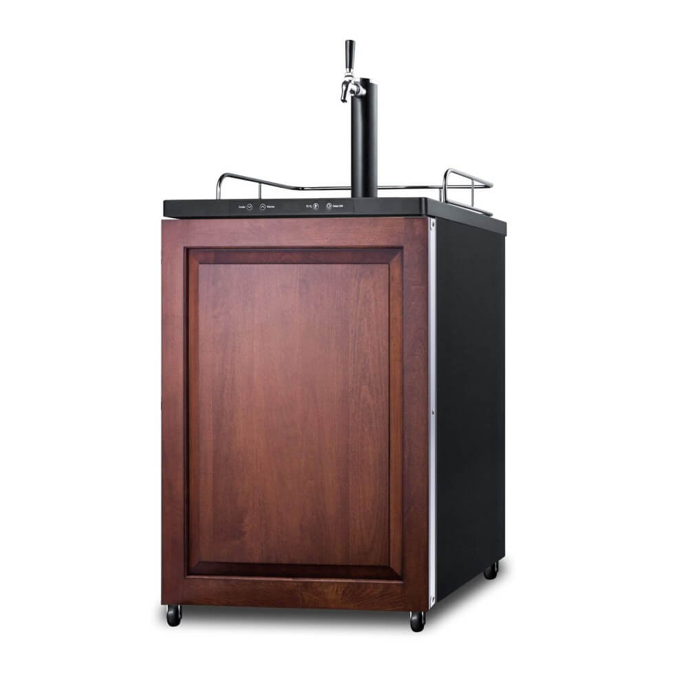 Summit 24 - Inch 5.6 Cu. Ft. Built - in Panel-Ready Door Single Tap Beer Dispenser (Model: SBC635MBIIF)