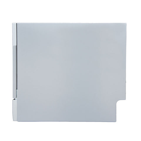 Image of Sunpentown 120V Silver 7 Wash Cycles Countertop Dishwasher w/ Delay Start & LED (SD-2224DS)