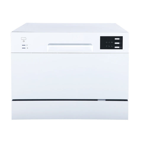 Sunpentown Energy Star 120V White Countertop Dishwasher with Delay Start & LED (SD-2225DW)