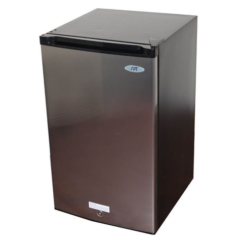 Image of Sunpentown 3.0  cu. ft Upright Freezer in Stainless Steel with Energy Star (Model: UF-304SS)