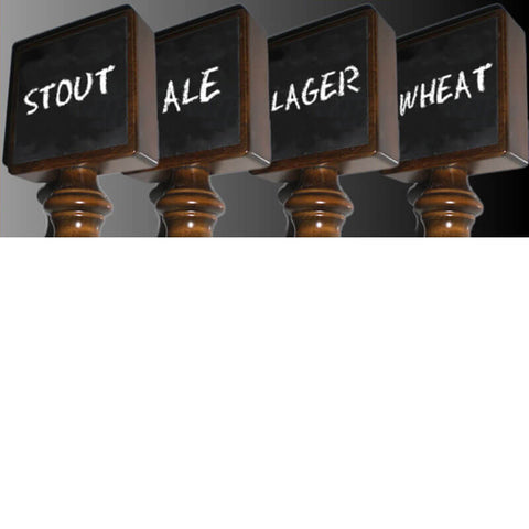 Image of Chalkboard Beer Tap Handle (Model: 1MWS)