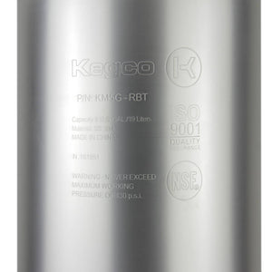 Kegco 5 Gallon Set of Two Stainless Steel Ball Lock Keg (2X-KM5G-STH)