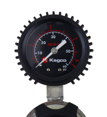 Kegco Elite Series Single Gauge CO2 Draft Beer Regulator (Model: LHU51)