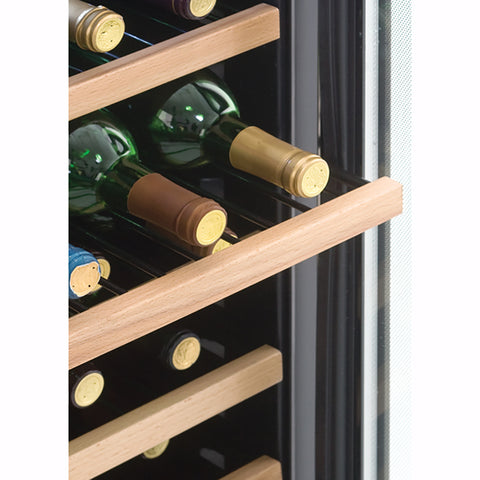 Image of Danby Designer Stainless Steel Wine Cooler with LED Lighting