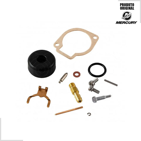Kit Reparo Carburador Original Motor Mercury 3.3hp 855546a4