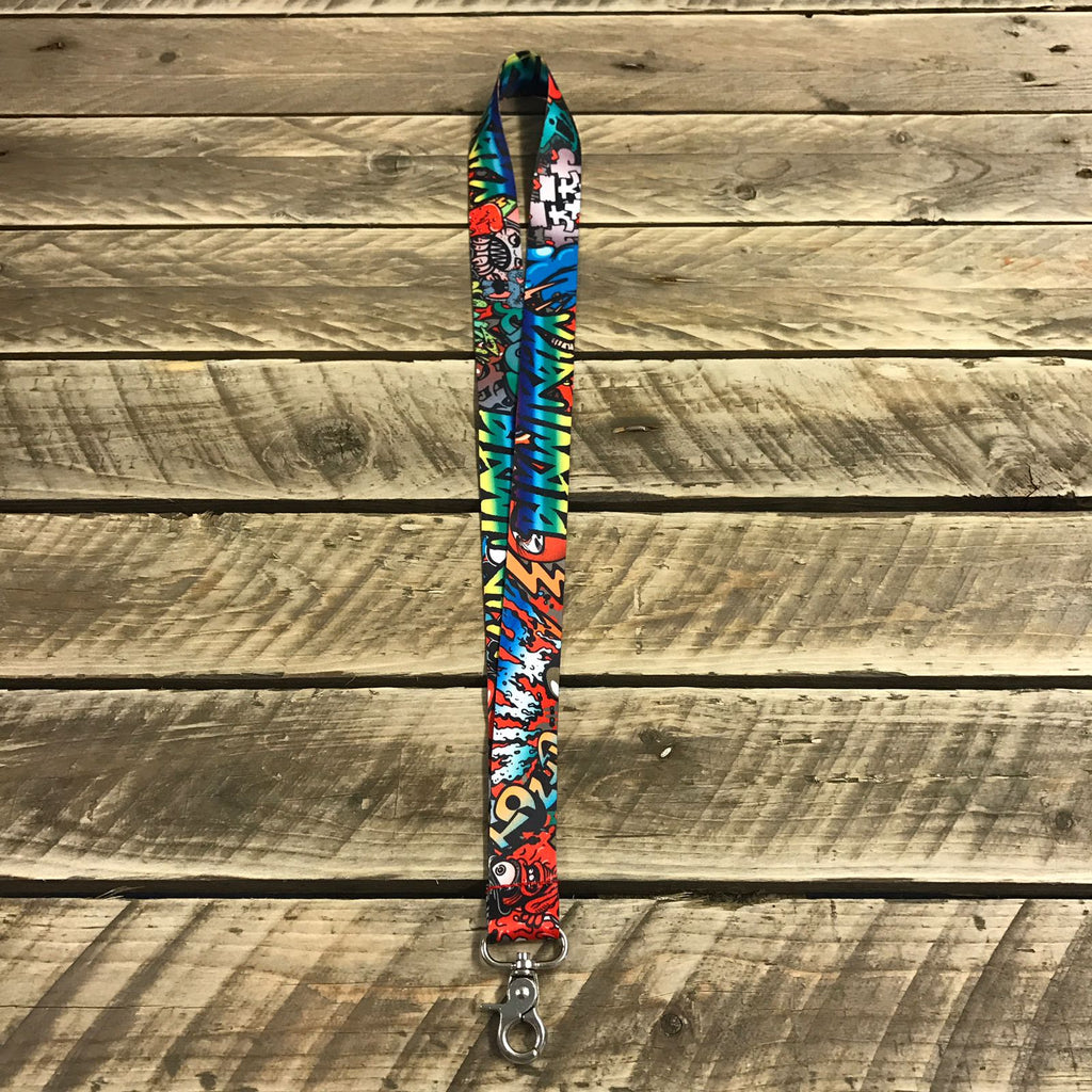 Graffiti Lanyard