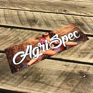 Agri Spec Slap Sticker