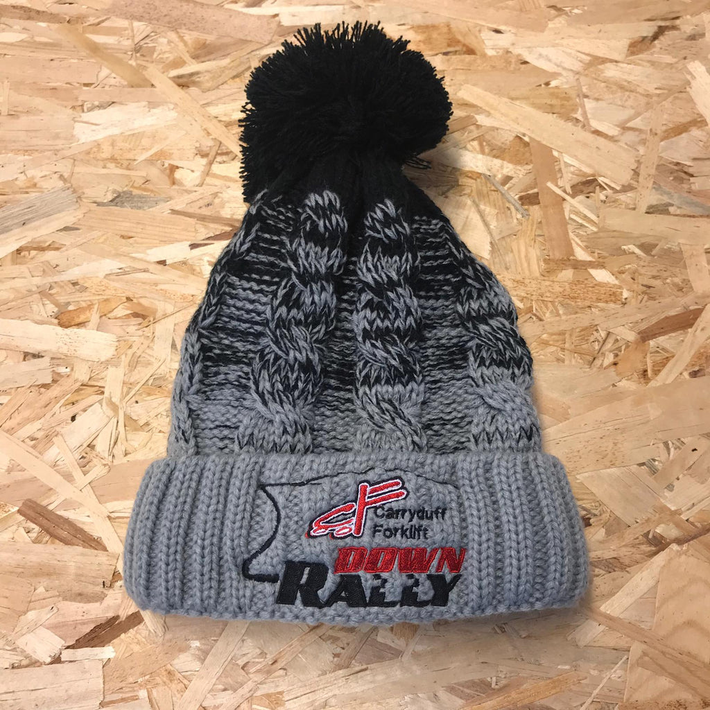 Down Rally Knitted Bobble Hat