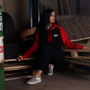 Blackwater Graphics Black & Red Hoodie