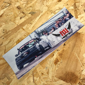 Michelle Westby Drift Slap Sticker
