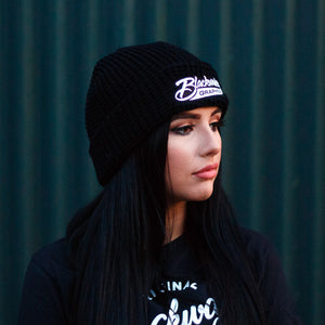 Blackwater Graphics Waffle Beanie