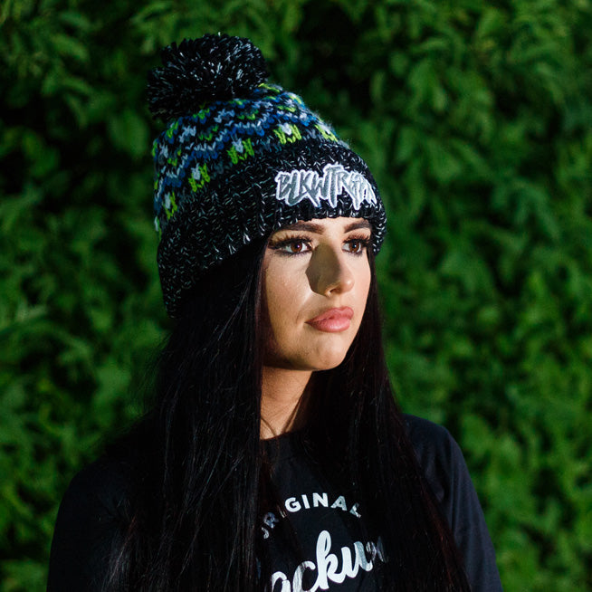 BLKWTRGPX Bobble Hat