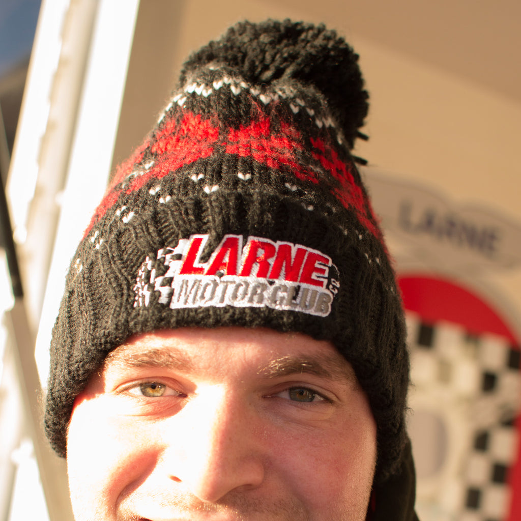 Larne Motor Club Bobble Hat