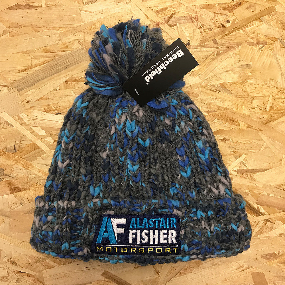 *NEW* Alastair Fisher Motorsport Knitted Bobble Hat